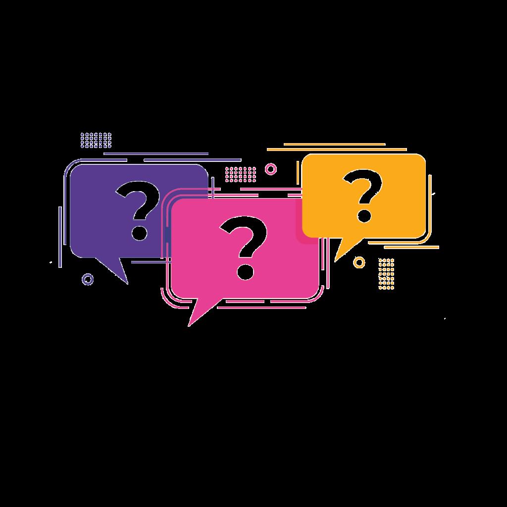 סימני בועות שאלה לשאלות נפוצות